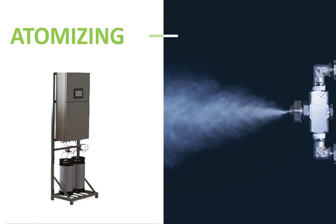 Atomizing with Smokestream Products.
